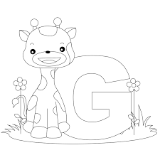 alphabet coloring pages the sun flower pages