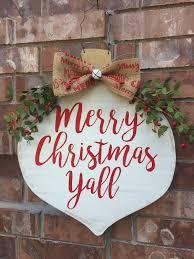christmas door hanger ornament door hanger christmas wreath
