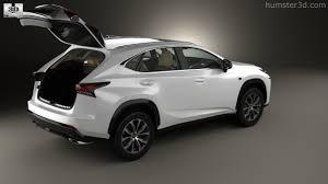 lexus hybrid models 2014 360 view of lexus nx f sport with hq interior 2014 3d model