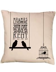 wedding gift personalised bird silhouette black gift shop personalised gift shop
