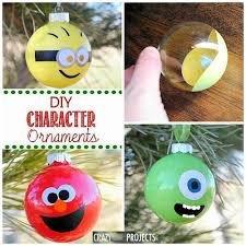 diy character ornaments this would make such a