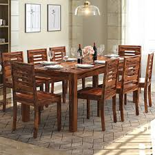 8 Seater Dining Tables And Chairs Buy 8 Seater Wooden Dining Sets In India Ladder
