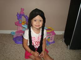 wednesday addams halloween costume party city wednesday addams inspired wig hat also great for pocahontas