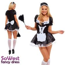 french halloween costumes fancy dress french maid costume sowest fancy dress uk party and