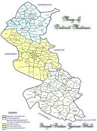 Uc Map Matiari District Matiari