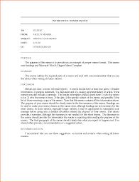 professional interoffice business memo format sample vatansun