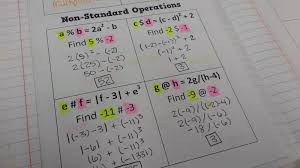 math u003d love non standard operations notes for inb