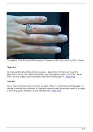 princess cut cubic zirconia wedding sets princess cut cubic zirconia cz wedding and engagement ring set in ste