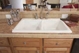 Acrylic Kitchen Sink by White Acrylic Sink R Anell Homes