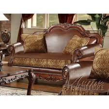 sofa dresden 3238 20 dresden 3 pc leather and chenille sofa set sofa sets af