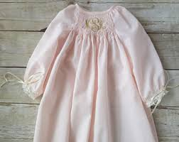 smocked baby dress etsy
