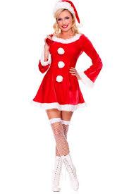 womens santa costume sleigh hottie santa costume 002751 christmas costumes for women