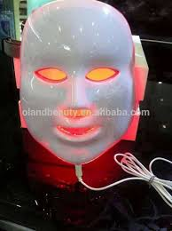 professional led light therapy machine new products 3 colors infrared light therapy blue light acne