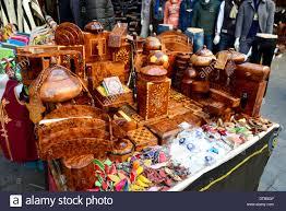 thuya wood souvenir ornaments for sale in medina casablanca