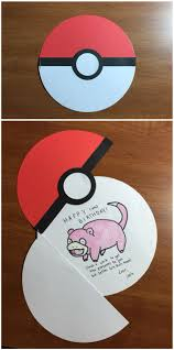 Halloween Birthday Card Ideas by Best 25 Pokemon Birthday Card Ideas On Pinterest All Pokemon