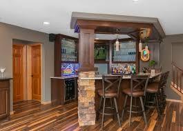 Diy Basement Flooring Bar Wonderful Basement Bar Design Ideas With Images About