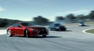 lexus car commercial commercial lexus performance lineup tears up the track lexus
