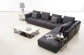 Modern Fabric Sectional Sofas Tosh Furniture Contemporary Brown Fabric Sectional Sofa Flap Stores