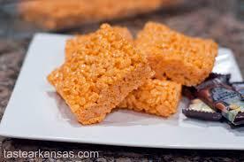 halloween rice crispy treats u2013 taste of arkansas