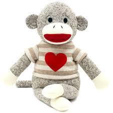 Sock Monkey Baby Bedding Valentine 14