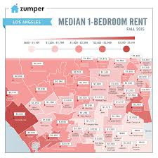 Map Of San Diego Neighborhoods by See The Cheapest And Most Expensive La Neighborhoods To Rent This