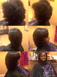 short pressed hairstyles blowout and silk pressed all natural hair no chemicals natural