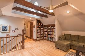 unfinished attic transformed into deluxe master suite in northeast