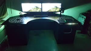 Gaming Desk Uk My Custom Built Gaming Desk Album On Imgur