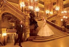 paris opera house chandelier grand entrance natalia vodianova and the paris opera ballet u0027s