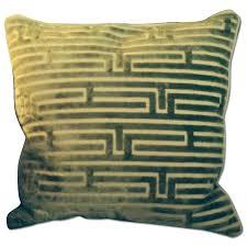ballard designs fabric decorative pillows pair aptdeco mitchell gold bob williams oversized pillows