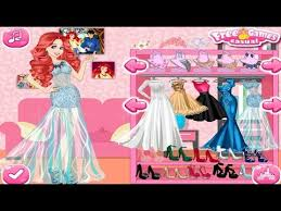 disney princess wedding dress up game dress up games youtube
