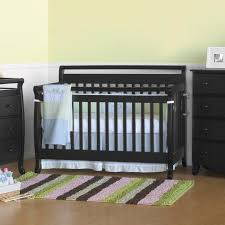 Emily Mini Crib by Bedroom Cozy Parkay Floor With Dark Davinci Emily 4 In 1