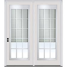 Inswing Patio Door Center Hinged Patio Patio Doors Exterior Doors The Home Depot
