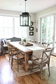 country cottage dining room chairs 102 fixer upper a coastal dining room delightful rustic dining room tables 7 wicker chairs above laminate wood floor around white
