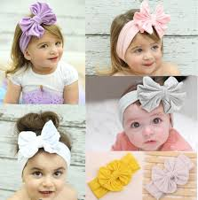 baby girl hair bows baby girl s headbands cotton hair bow flower cotton headband with