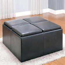 jameson double storage ottoman with tray tables target pouf coffee