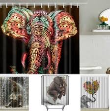 elephant shower curtains online elephant shower curtains for sale