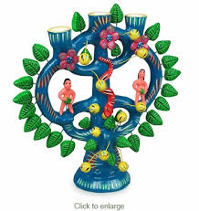 large tree of candelabra mexican folk