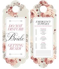 wedding door hanger template diy 2 bridal door hanger wedding weddings and bridezilla