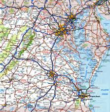 Map Of Virginia Cities And Towns by Highway And Road Of West Virginiafree Maps Of Us