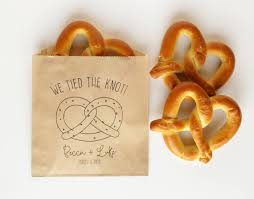 pretzel bags for favors we the knot wedding favor bags pretzel bag soft