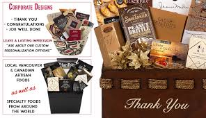 canadian gift baskets gift baskets canada gift baskets vancouver corporate gift