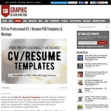 Free Cv Resume Templates Pour Cv Gratuit Pearltrees