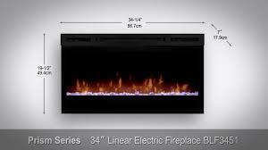 dimplex prism blf3451 linear wall mount fireplace sylvane