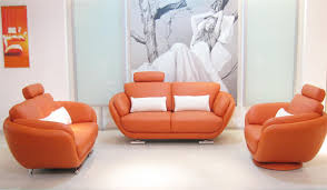 orange leather sofa pictures of orange leather sofa home design