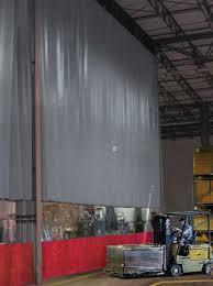 Industrial Curtain Wall Strip Doors Weld Screens Curtains Matrix Material Handling Inc