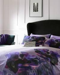 Selfridges Duvet Cosmic Bloom King Duvet Cover Black Gifts For Her Ted Baker Uk