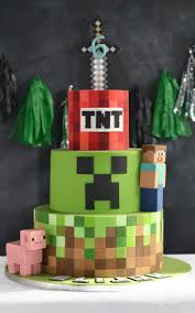 mindcraft cakes minecraft cake boys bespoke celebration cakes for all occasions