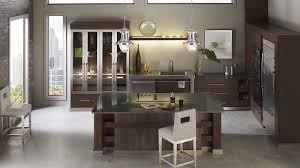 Contemporary Kitchen Cabinets Walnut Kitchen Cabinets Omega Cabinetry