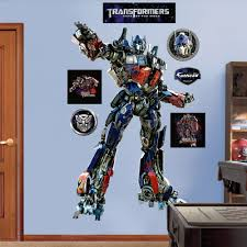 optimus prime wall decals by fathead